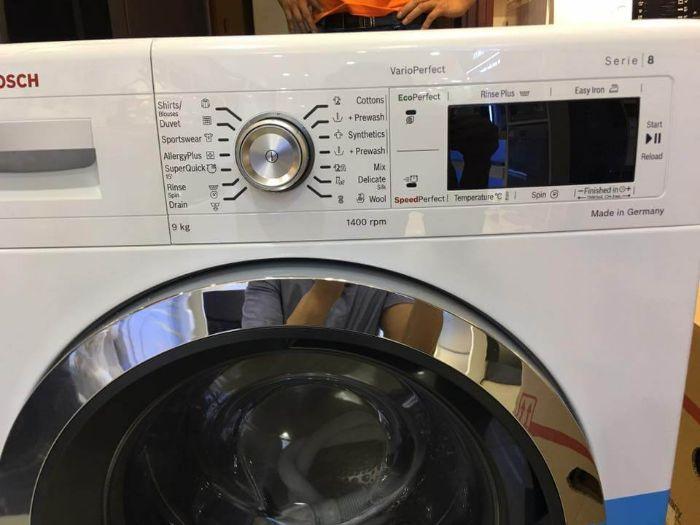 Bảng điều khiển máy giặt Bosch WAW28480SG