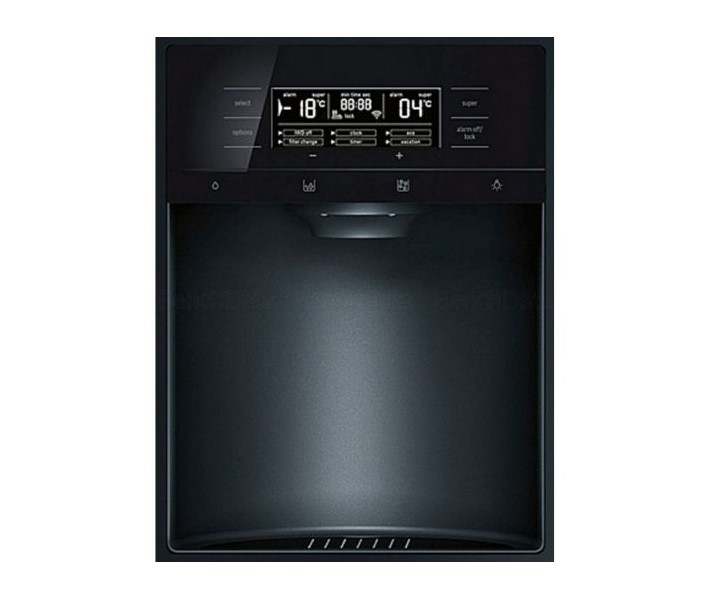 Bảng điều khiển của tủ lạnh side by side BOSCH KAD92SB30