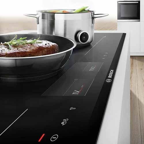 Bếp từ ba Bosch với nhiều tính năng hiện đại