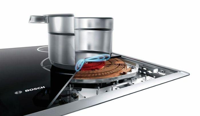 Bếp từ Bosch PID651DC5E công nghệ điện từ