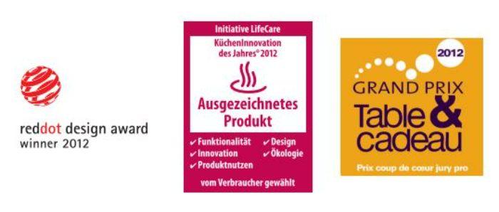 Bộ nồi 4 món Fissler Luno nhập khẩu nguyên chiếc từ Châu Âu