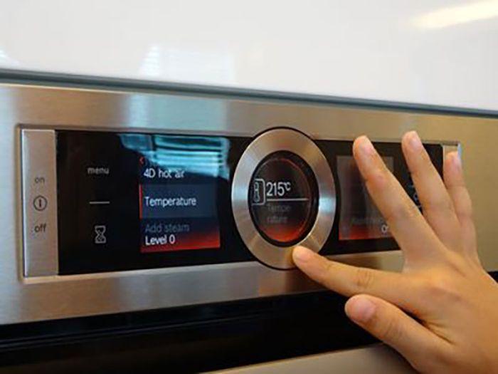 Cảnh báo nhiệt dư của lò nướng Bosch HBG634BB1