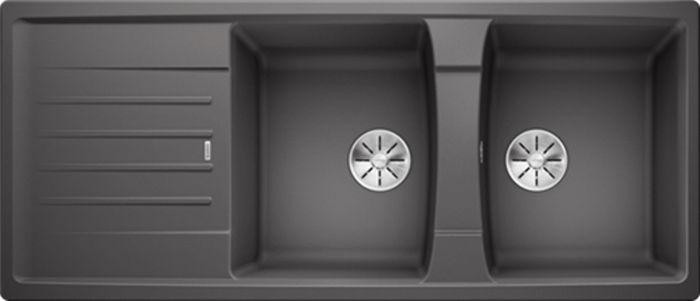 Chậu đá Blanco LEXA 8S Rock Grey thiết kế sang trọng, tính năng sử dụng cao