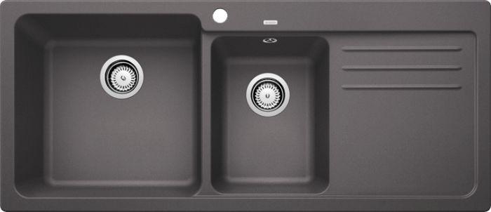 Chậu đá Blanco NAYA 8S ROCK GREY thiết kế sang trọng, công năng sử dụng cao