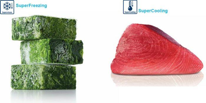 Chức năng Super Freezing của tủ lạnh side by side BOSCH KAD92SB30