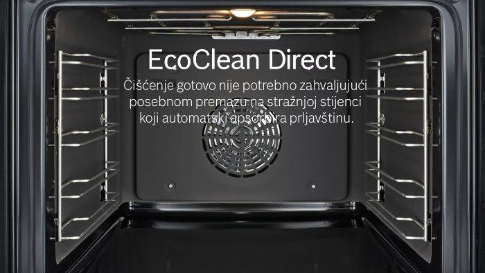 Chức năng eco Clean Direct của lò nướng Bosch HBS534BS0B