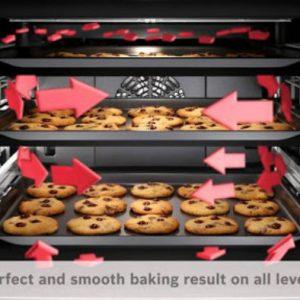 Công nghệ nướng hoàn hảo của lò nướng Bosch HBG634BB1