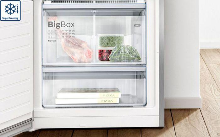 Công nghệSuper Freezing của tủ lạnh Side By Side Bosch KAG93AIEPG