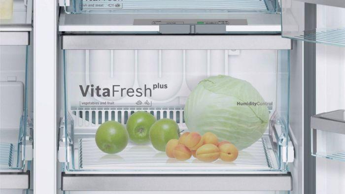 Dự trữ thực phẩm lâu hơn nhờ công nghệ VitaFresh Plus