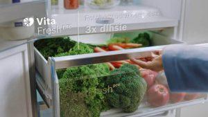 Công nghệ VitaFresh Plus của tủ lạnh side by side BOSCH KAD92SB30