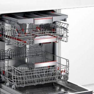 Hệ thống giàn rửa của máy rửa bát Bosch SMS88TI40M
