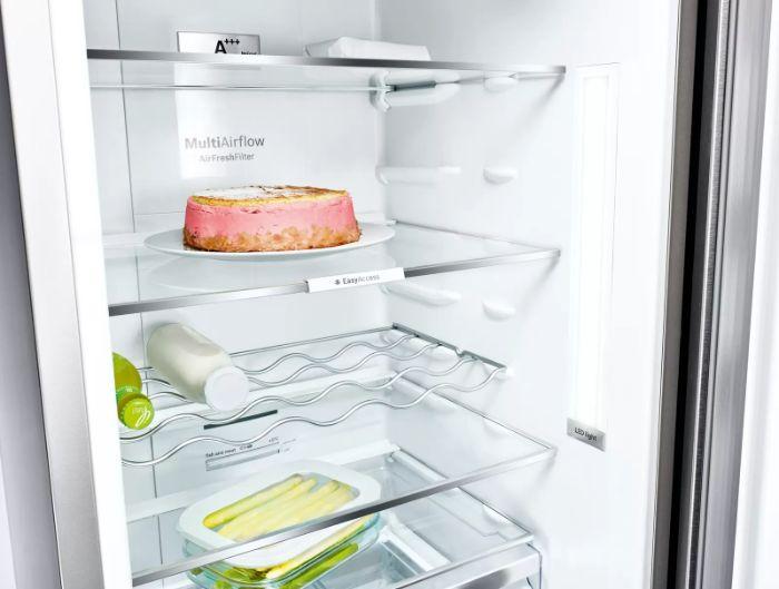 Hệ thống đèn Led của tủ lạnh Bosch Side by Side KAD90VB20