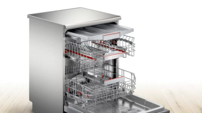 Hệ thống giàn rửa của Máy rửa bát Bosch SMS6ECI93E
