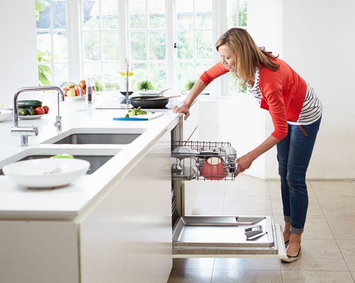 Kiểm tra lọc rác thường xuyên cho máy rửa bát Bosch