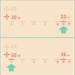 Cách lập trình thời gian nấu của bếp từ Bosch PID775DC1E