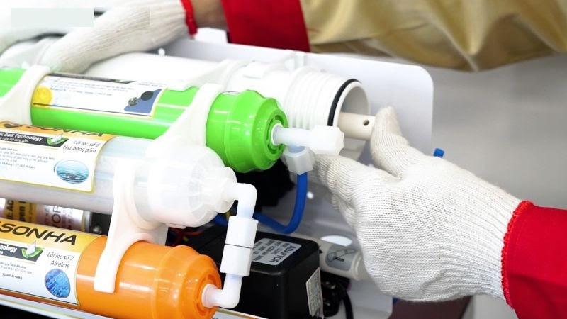Lưu ý trong cách lắp máy lọc nước