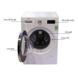 Máy giặt Bosch WAW28480SG nhập khẩu Châu Âu