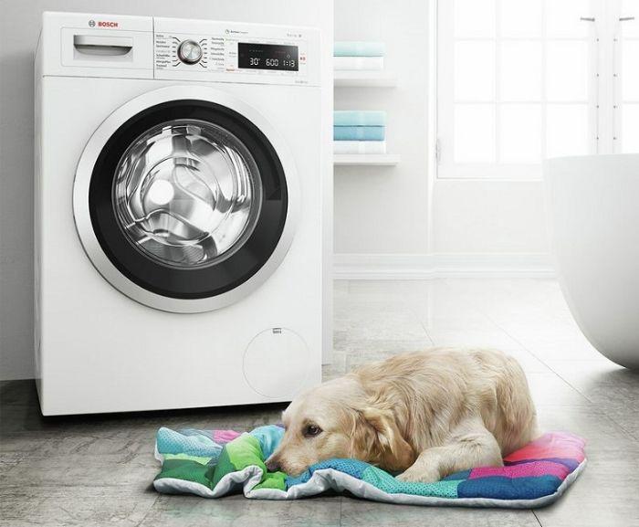 Máy giặt Bosch WAW28480SG vận hành êm ái