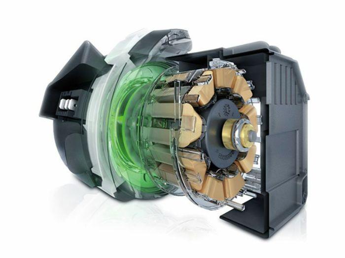 Động cơ siêu êm, siêu bền bỉ của Máy hút mùi Bosch DWB97IM50