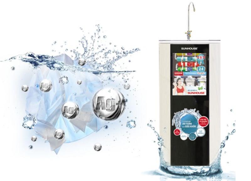 Sunhouse - một trong các thương hiệu máy lọc nước nổi tiếng tại Việt Nam