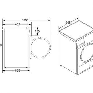 Thông số kỹ thuật của Máy sấy Bosch WTB86201SG