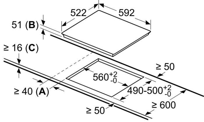 Thông số kỹ thuật Bếp từ Bosch PID651DC5E