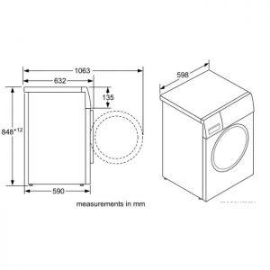 Thông số kỹ thuật máy giặt Bosch WAW28480SG