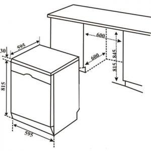 Thông số kỹ thuật của máy rửa bát Bosch SMS6ZCW42E