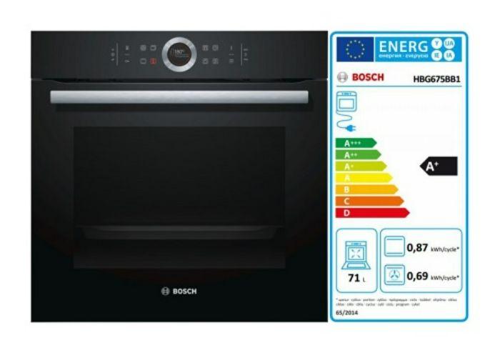 Lò nướng Bosch HBG675B1 tiết kiệm năng lượng