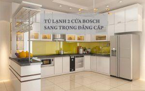 Tủ lạnh Side By Side Bosch KAG93AIEPG đẳng cấp, thời thượng