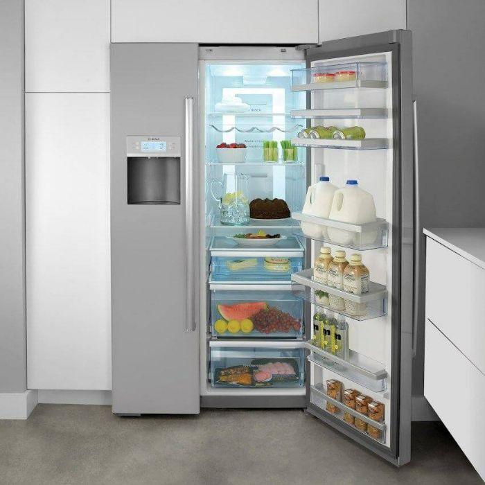 Tủ lạnh Side By Side Bosch KAG93AIEPG tính năng thông minh