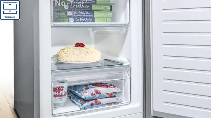 Lưu trữ nhiều hơn với Vario Zone của tủ lạnh Side By Side Bosch KAG93AIEPG