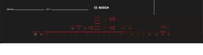 17 cấp độ gia nhiệt hoàn hảo của Bếp từ Bosch PXX975DC1E