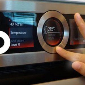 Lò nướng kết hợp vi sóng Bosch CMG633BS1 có chức năng hẹn giờ một cách dễ dàng
