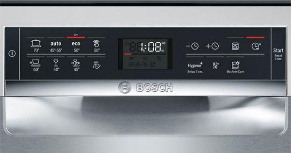 Màn hiện thị của máy rửa bát Bosch SMS68MI04E