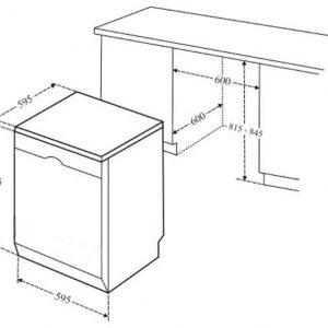 Thông tin lắp đặt của máy rửa bát Bosch SMS68UI02E