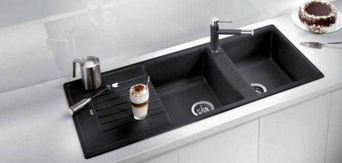 Chậu rửa bát Blanco Naya 8S ANTHRACITE phù hợp với mọi không gian bếp