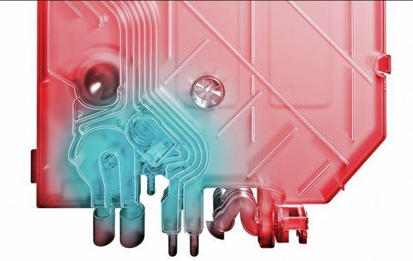 Tính năng Heat Exchanger: Bộ trao đổi nhiệt của máy rửa bát Bosch SMS68MI04E