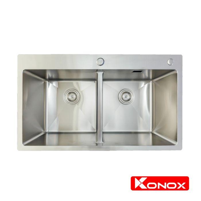 Chậu rửa bát Konox KN8248DOB bền bỉ với thời gian