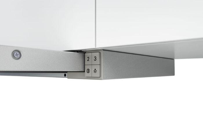 Máy hút mùi Bosch DHI623GSG được làm từ chất liệu thép không gỉ
