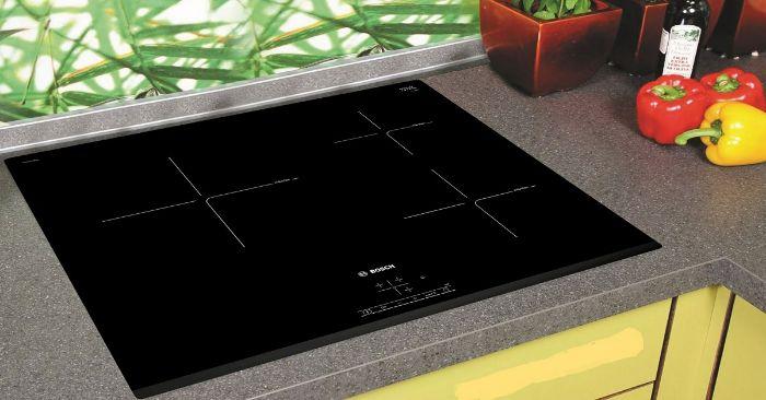 Chức năng nhận diện vùng nấu của bếp từ Bosch PUC631BB2E