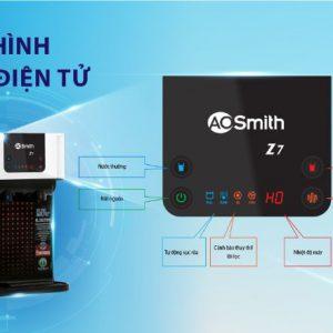 Hệ thống cảnh báo, giảm sát hiển thị trên màn hình máy lọc nước AO Smith RO-Z7