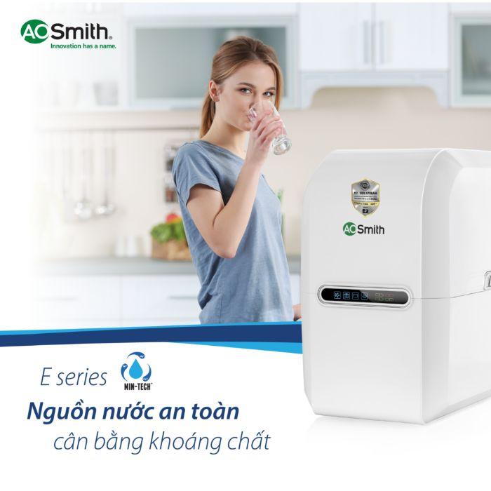 Chấtlượng nguồn nước đầu ra của máy lọc nước AO.Smith G2 luôn đảm bảo an toàn