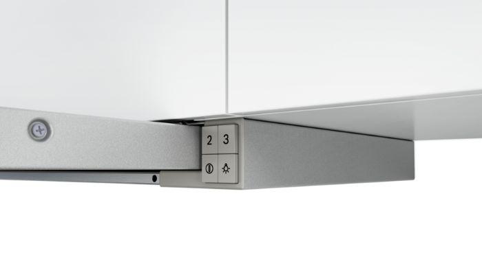 Chất liệu thép không gỉ của máy hút mùi DFT63AC50 dễ dàng vệ sinh