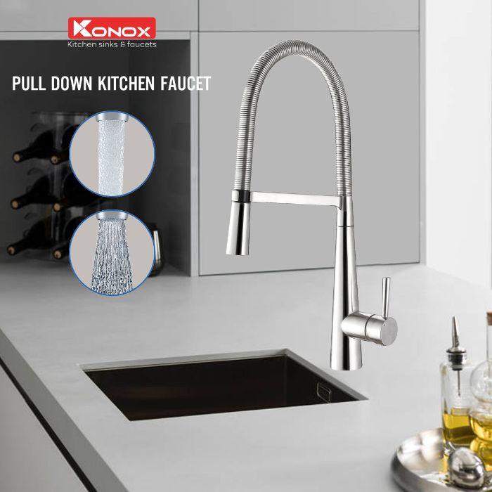 Chức năng của vòi rửa bát nóng lạnh Konox KN1909