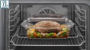 Công thức nấu ăn tự động với lò nướng kết hợp Vi sóng Bosch CMG636BS1