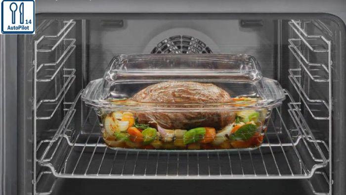 Lò nướng Bosch HBG655BS1M có chức năng hỗ trợ nấu nướng dễ dàng sử dụng