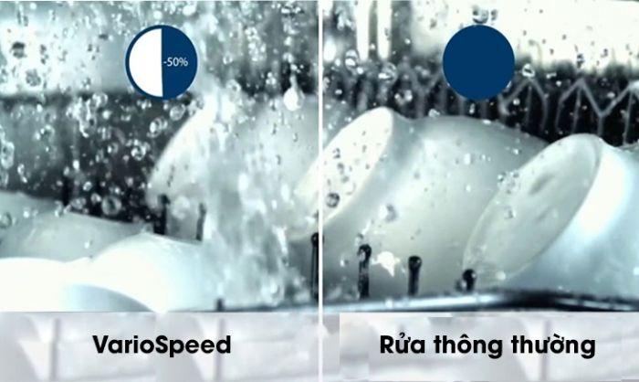Chức năng VarioSpeed Plus của máy rửa bát SMV46KS01E serie 4