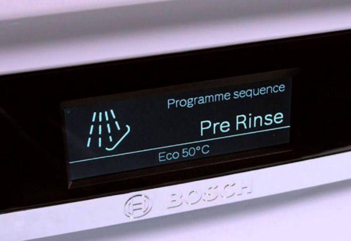 Chương trình PreRinse của máy rửa bát âm tủ BOSCH SMI46KS01E Serie 4