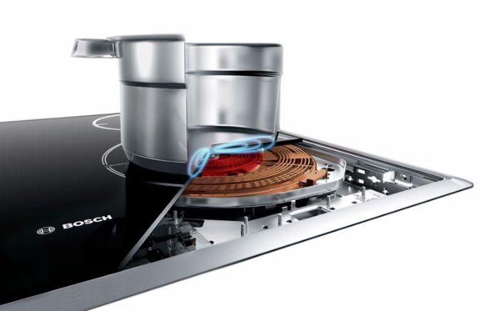 Công nghệ cảm ứng của Bếp từ Bosch PXE675DC1E